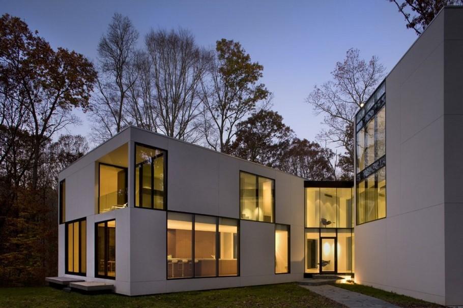 Вид на лес из каждого окна дома Graticule House