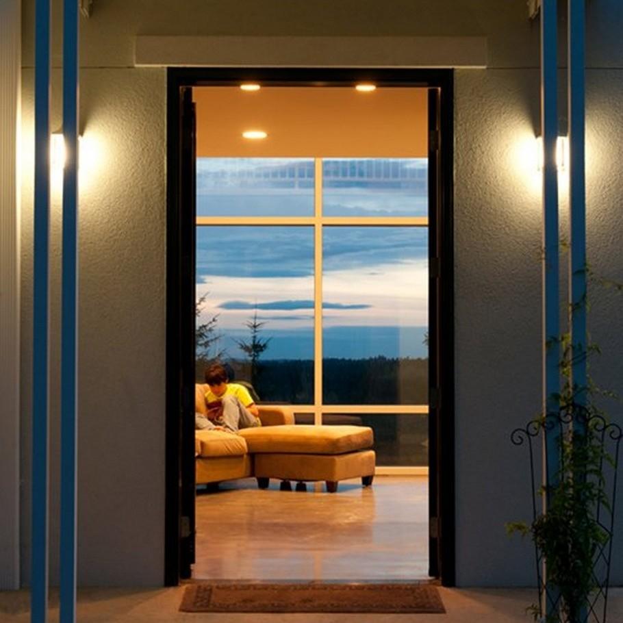 Необычные частные дома: Thomas Eco-House с креативным лифтом