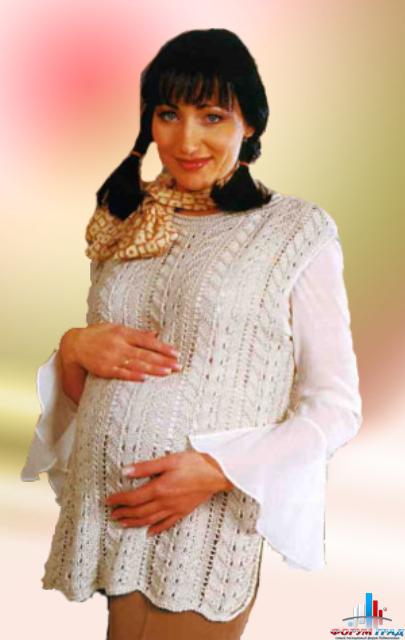 Вязание для беременных моделей 8