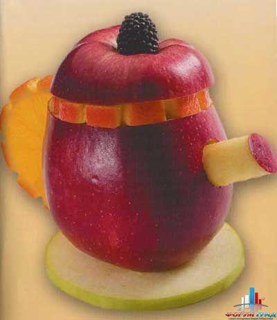 Что из овощей и фруктов вы делаете для