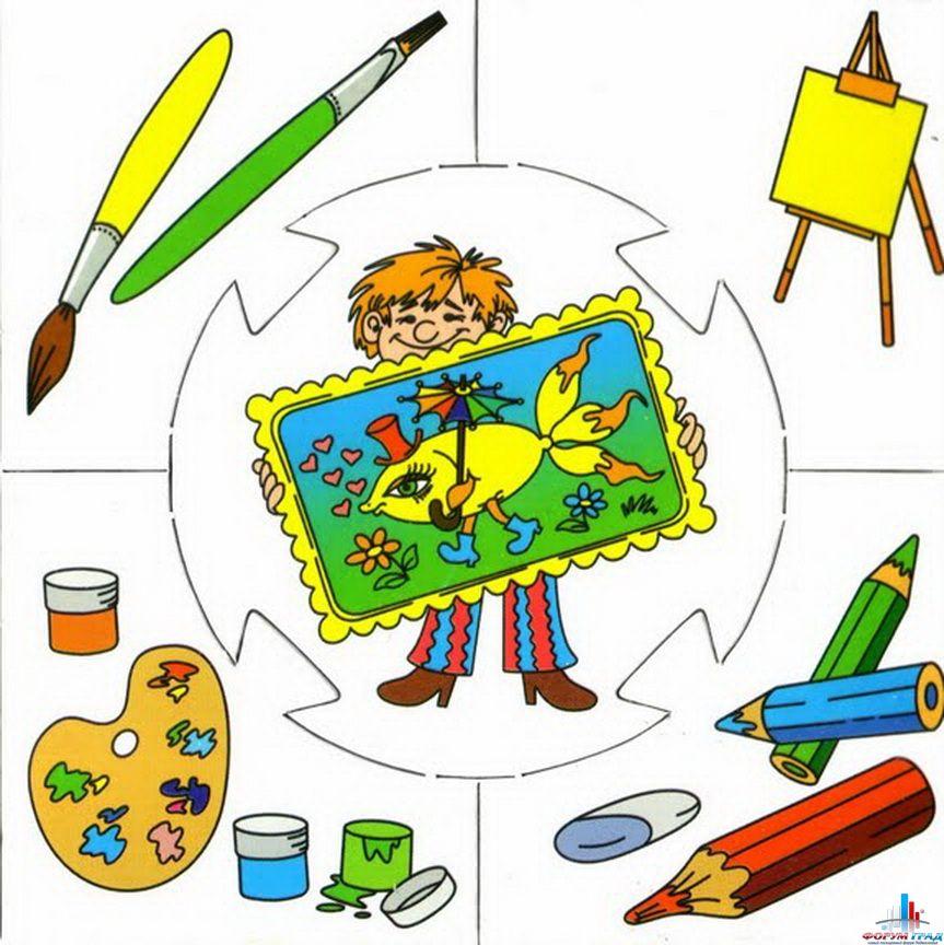 """Схема вышивки  """"Детям-профессии """": таблица цветов."""