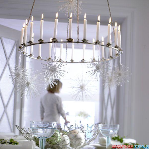 новогодние подвески, украшение к новому году, украшение для люстры, новый год, праздник, новогодний интерьер