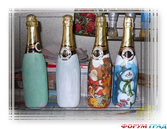 Украшение бутылок к Новому году-03