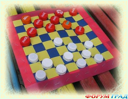 Китайские шашки как сделать своими руками