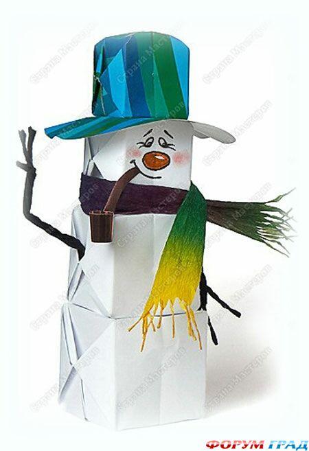 Шапочки снеговиков своими руками фото 478