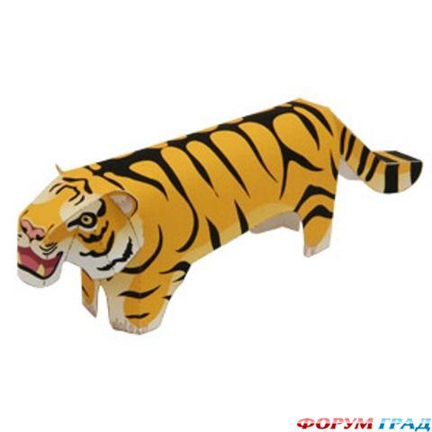 Дети сети. Бумажный тигр к новому году