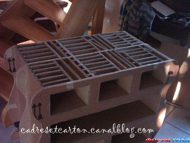 мебель из картона своими руками, форум мебель