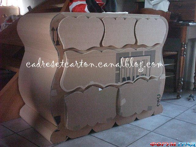 Мебель из картона своими руками форум