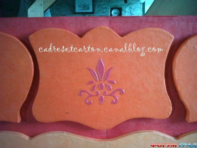 Мастерим мебель из картона (схемы, выкройки, реко.