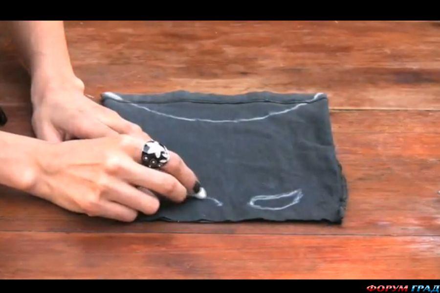 Как сшить перчатки для костюма кошки 134