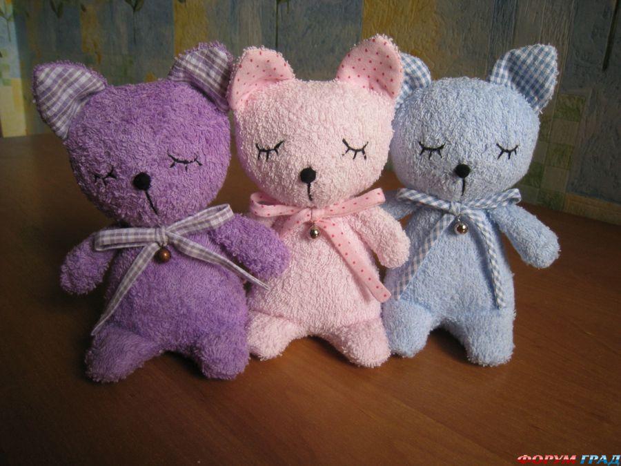 Игрушки шить и вязать