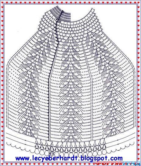 схема вязаного абажура