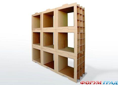 создания картонной мебели,