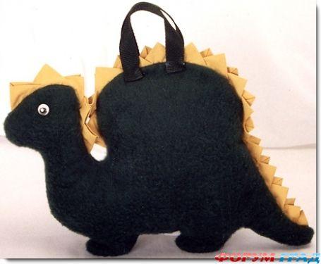 сумка-динозавр