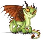 вязаные драконы, как связать дракона динозавра