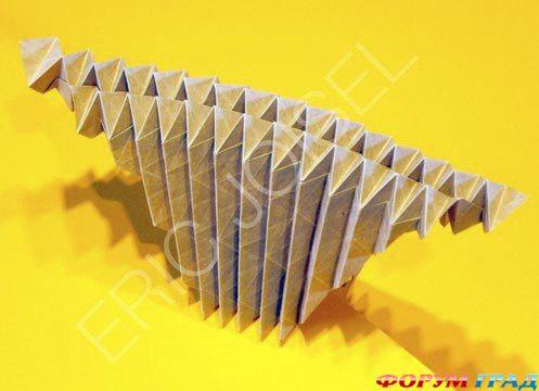 схемы оригами, ежик.