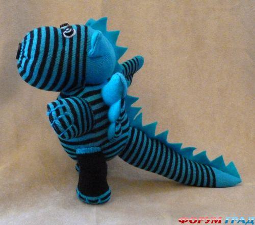 дракон из носка