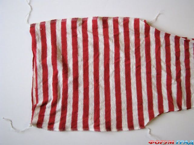 сшиваем внутреннюю часть штанин