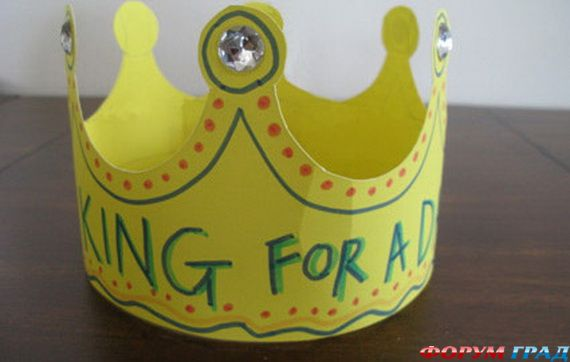 Корона своими руками из картона фото