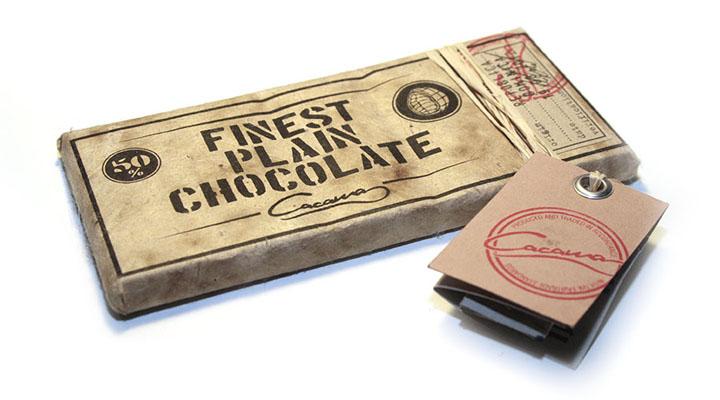 Упаковка шоколада для всемирной программы Fairtrade от дизайнера Marcel Richard из Германии