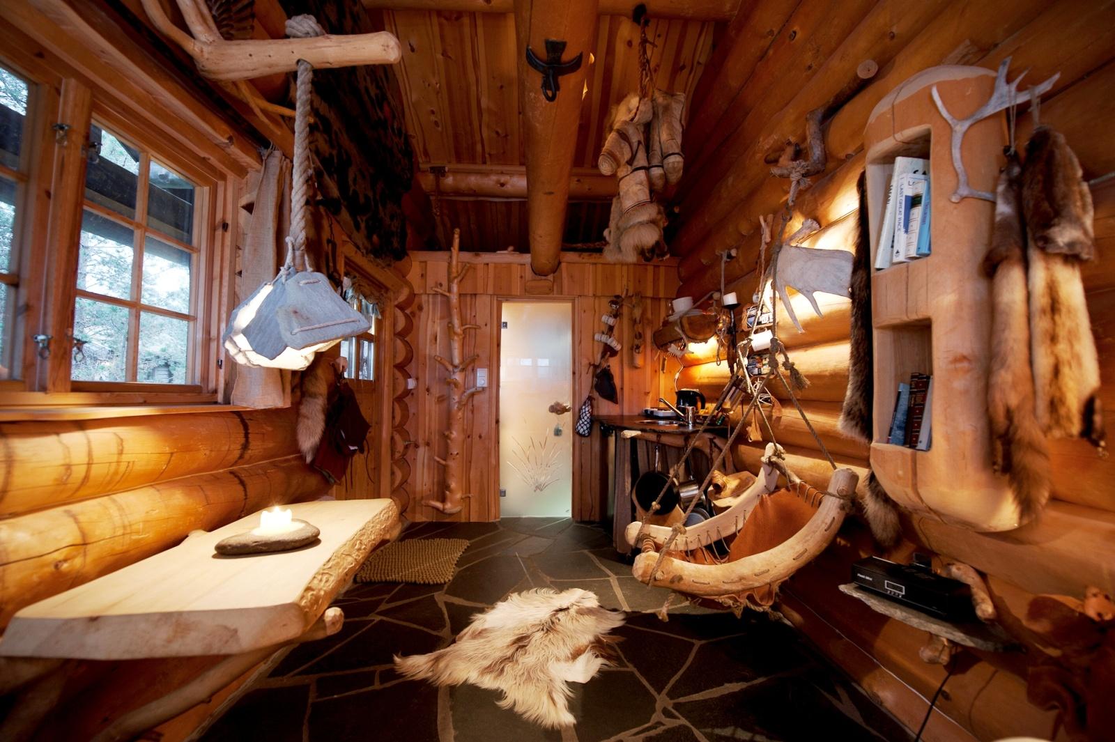 Великолепный отель engholm husky design lodge для активного .