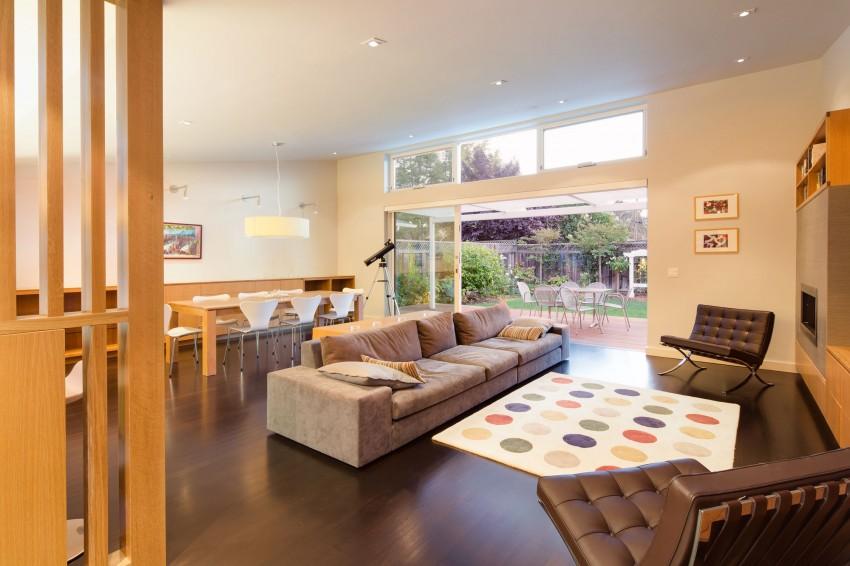 Замечательный проект дома с интерьером в стиле модерн