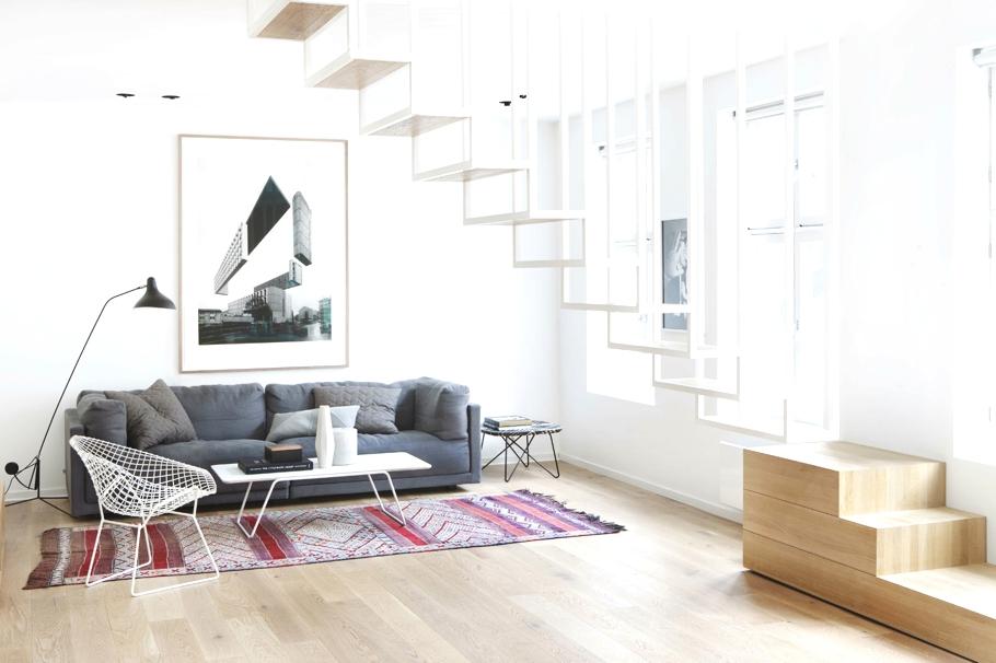 Дизайн интерьера элитной квартиры в стиле лофт