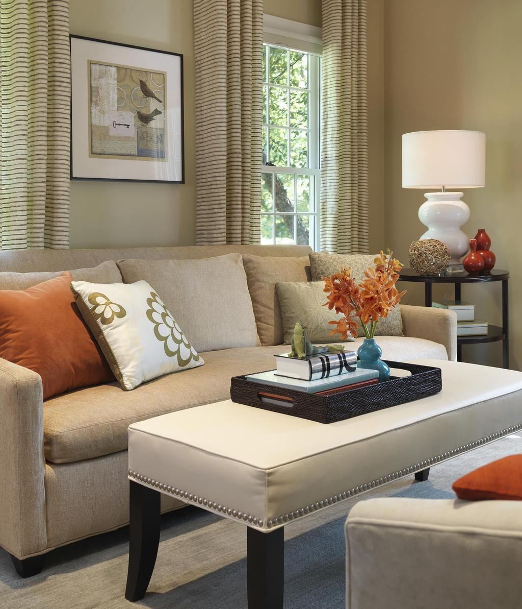 Как сделать уютную гостиную в небольшой комнате