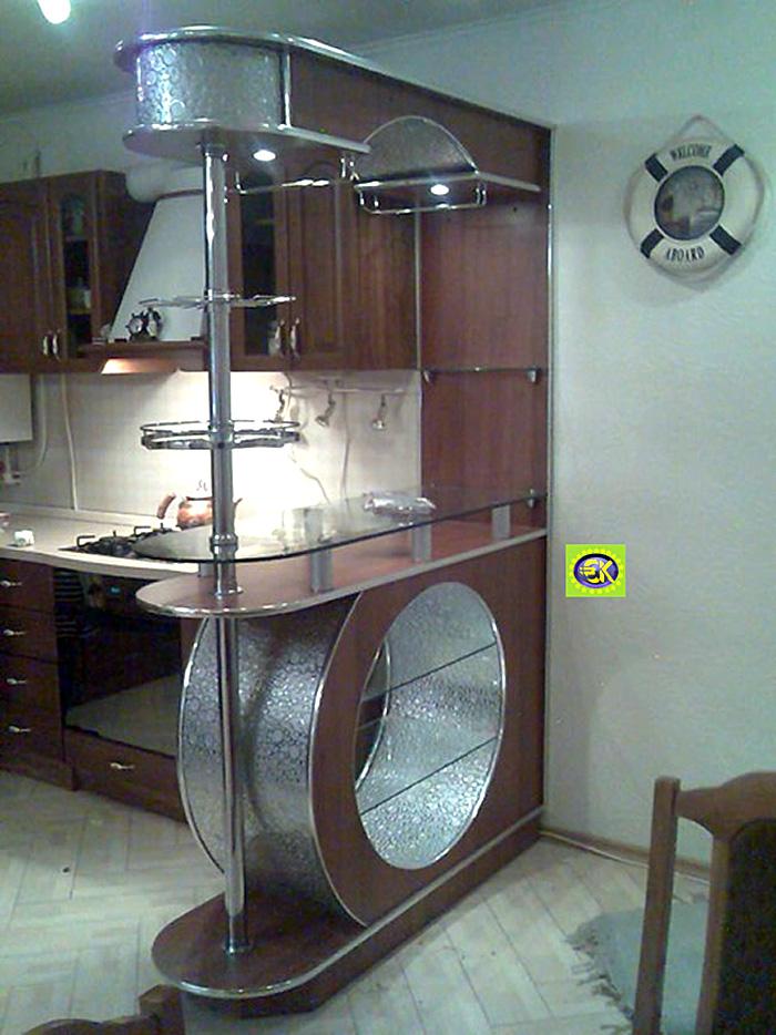 Барная стойка на маленькой кухне фото своими