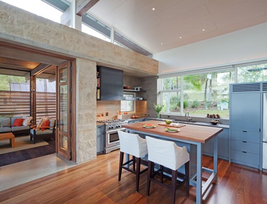 Восхитительный проект дома в современном деревенском стиле