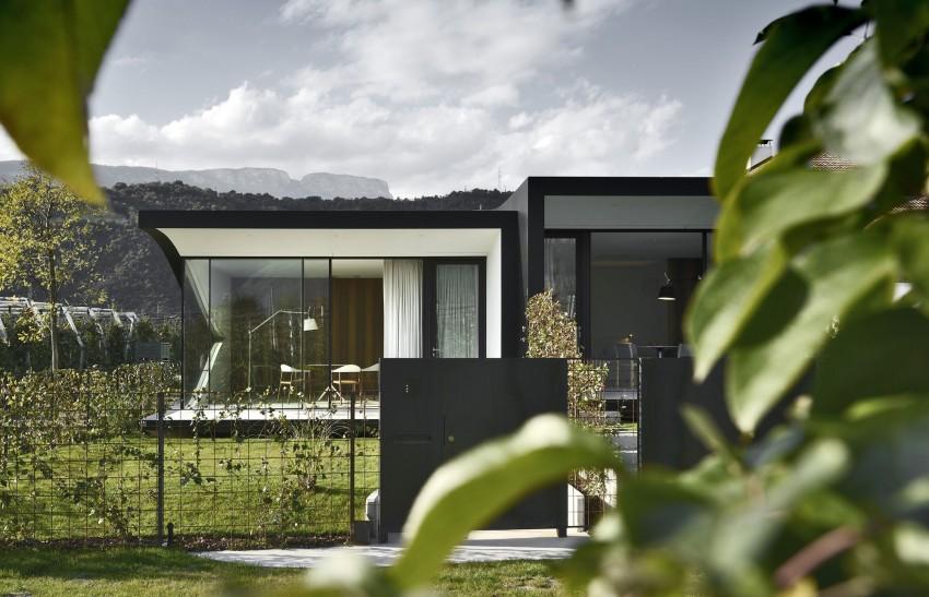 Концептуальный дизайн-проект «зеркального» дома