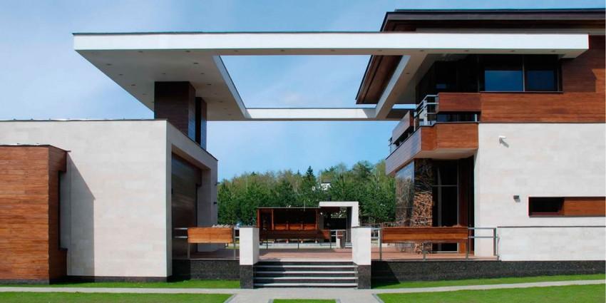 Красивый загородный дом в скандинавском стиле