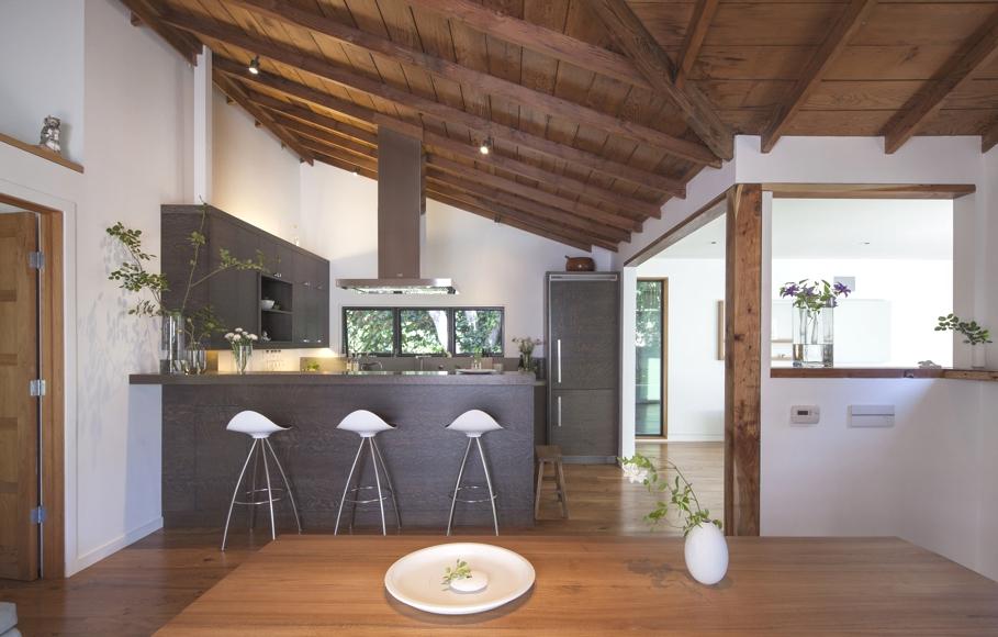 Интерьер небольшого загородного дома в Калифорнии