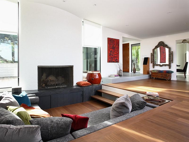Floor seating ideas living room