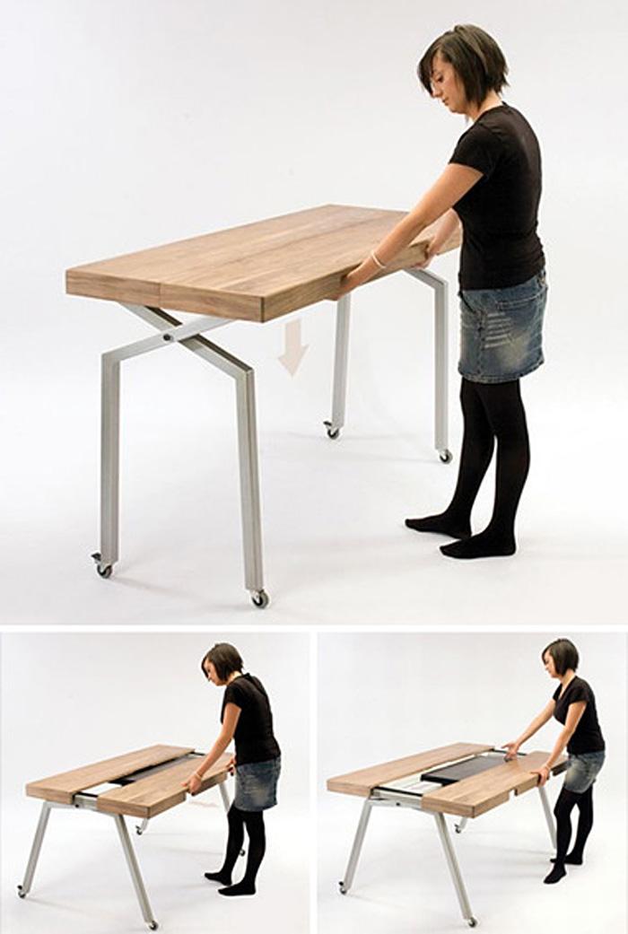Кухонные раздвижные столы.