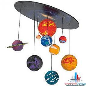 Модель солнечной системы своими руками