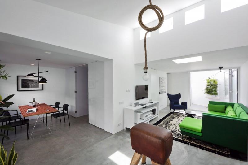 Интерьер гостевого дома Casa Xonar в необычном стиле