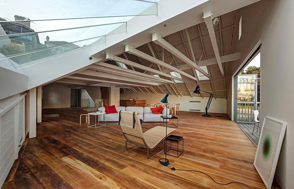 Дом в виде корабля: проект Boat House от австралийских архитекторов