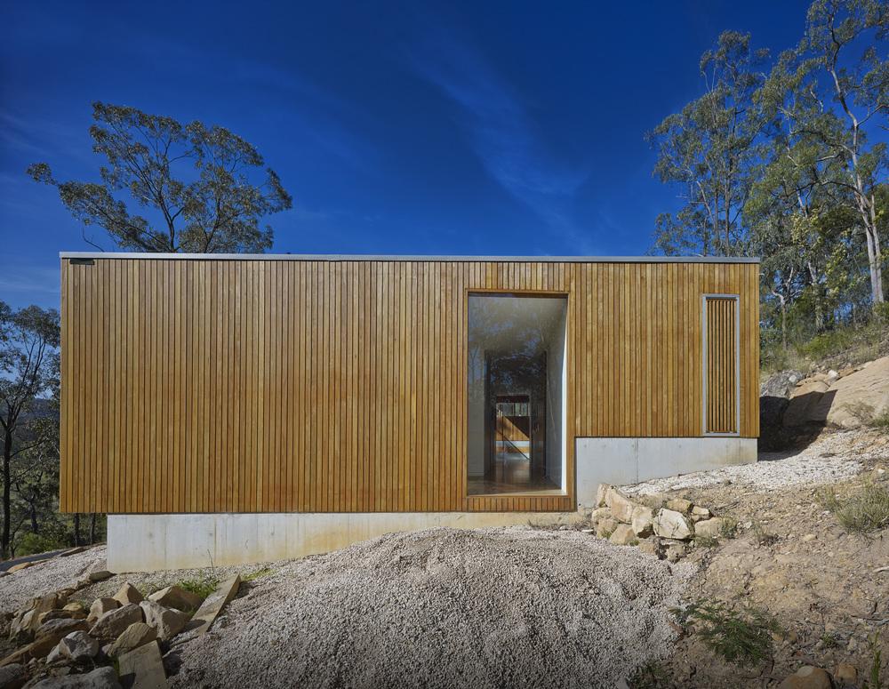 Проект небольшого загородного дома St