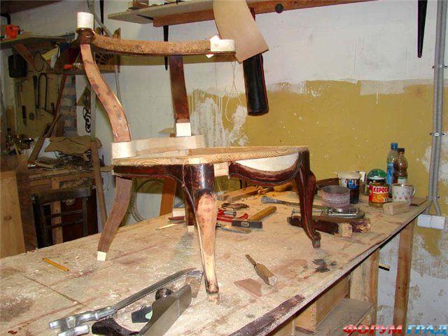 Как удлинить ножки стула своими руками 44