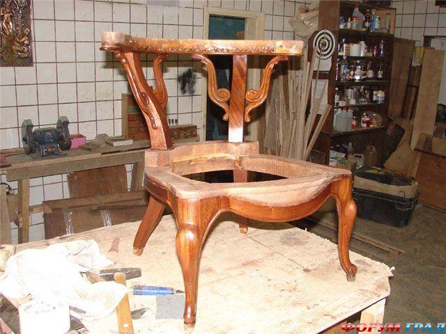 Изготовление мебели своими руками стул
