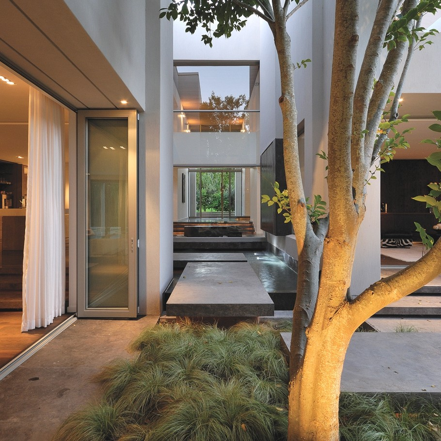 Дизайн частного дома от SAOTA и Antonio Associates: сдержанная роскошь