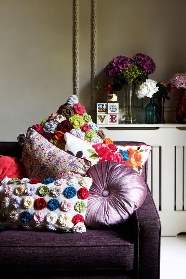 Освежаем интерьер цветочными принтами