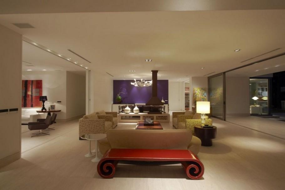 Бразильская вилла от дизайнерской студии Drucker Arquitetura