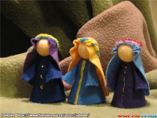 Вертеп своими руками куклы
