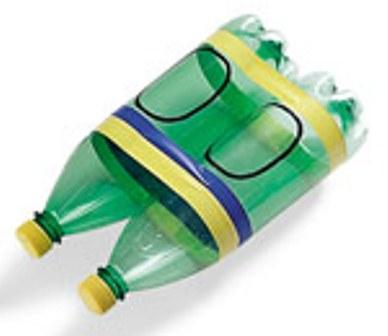 как сделать из бутылки лодку для куклы
