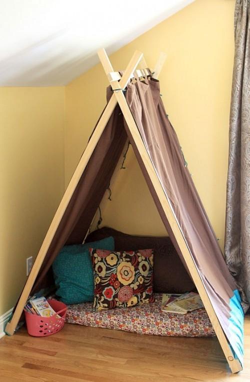 Как сделать палатку в доме для детей - Gksem.ru