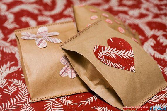 Как сделать обёртку для подарка своими руками