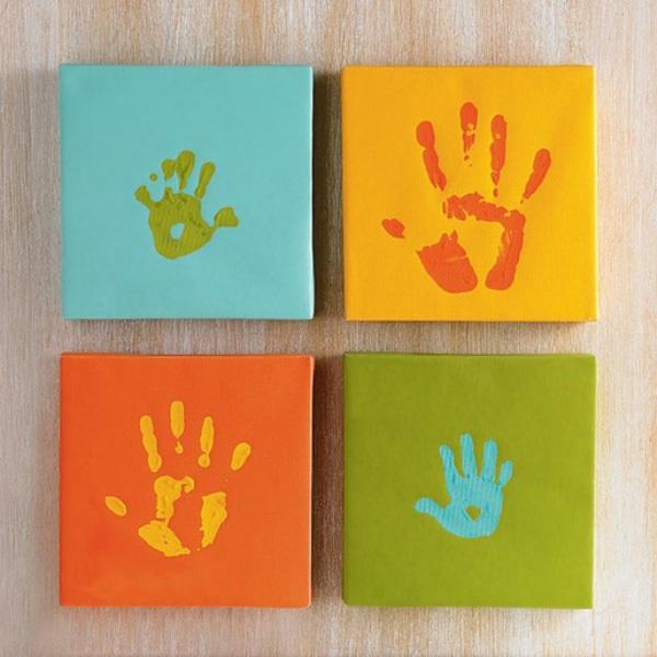 Отпечаток ладошки своими руками