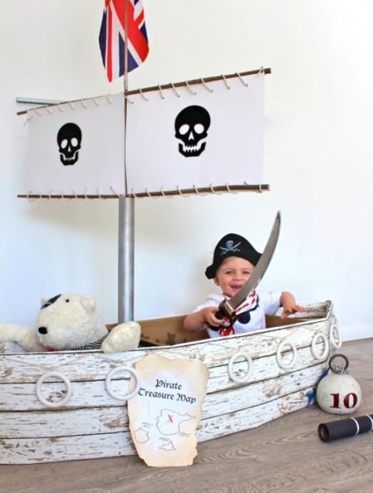 Как сделать корабль своими руками для детской площадки